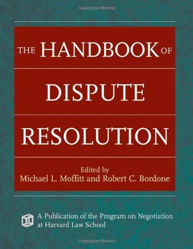 Handbook Of Dispute Resolution