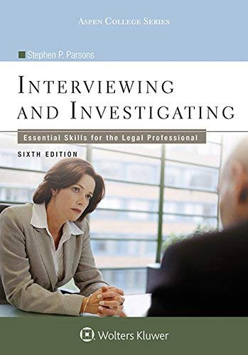 Interviewing And Investigating