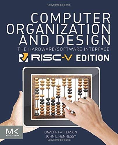 Computer Organization And Design Risc-V Edition