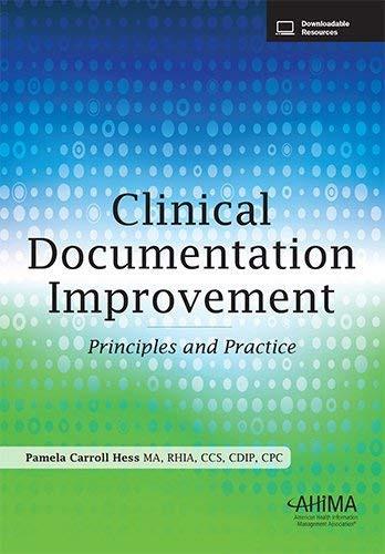 Clinical Documentation Improvement