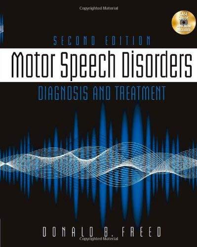 Motor Speech Disorders