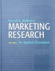 Marketing Research An Applied Orientation
