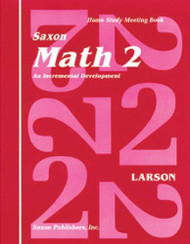 Saxon Math 2 Homeschool