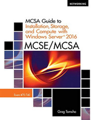 MCSA Guide to Installation Storage & Compute w/ Windows Server
