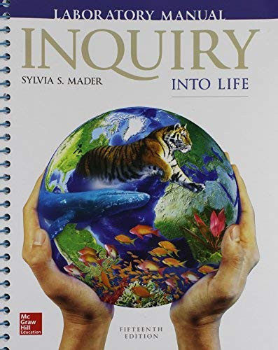 Laboratory Manual For Inquiry Into Life