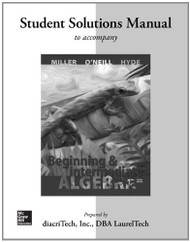 Student Solution Manual Beginning And Intermediate Algebra
