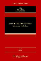 Securities Regulation: Cases & Materials