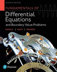 Fundamentals Of Differential Equations And Boundary Value Problems