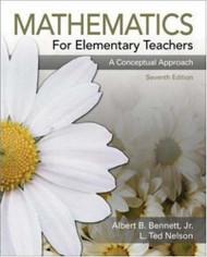 Mathematics For Elementary Teachers A Conceptual Approach