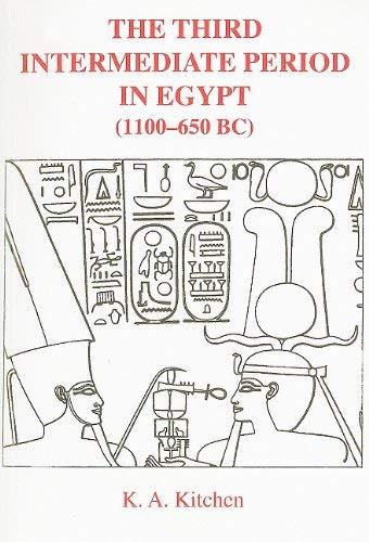 Third Intermediate Period In Egypt 1100-650Bc