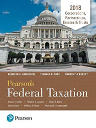 Pearson's Federal Taxation - Corporations Partnerships