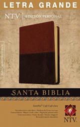 Santa Biblia NTV Edici ?n personal letra grande DuoTono