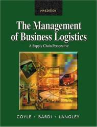 Management Of Business Logistics