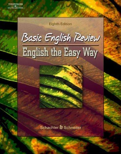 Basic English Review