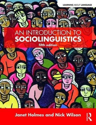 Introduction To Sociolinguistics