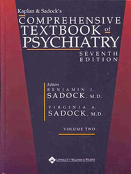 Kaplan And Sadock's Comprehensive Textbook Of Psychiatry