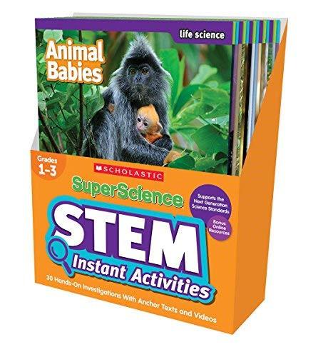 SuperScience STEM Instant Activities Grades 1-3 30 Hands-On Investigations
