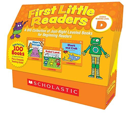 First Little Readers Guided Reading Level D A BIG Collection of Just-Right