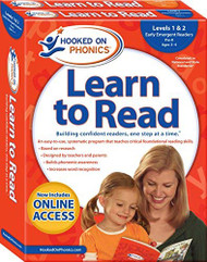 Hooked on Phonics Learn to Read - Levels 1&2 Complete Early Emergent Readers