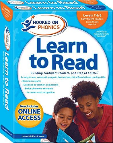 Hooked on Phonics Learn to Read - Levels 7&8 Complete Early Fluent Readers