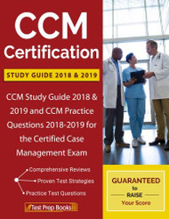 CCM Certification Study Guide 2018 and 2019