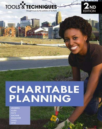 Tools And Techniques Of Charitable Planning