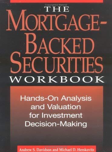 Mortgage-Backed Securities Workbook