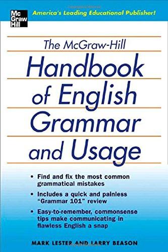 McGraw-Hill Education Handbook of English Grammar and Usage