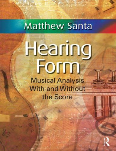 Hearing Form Musical Analysis With and Without the Score