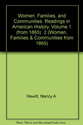 Women Families and Communities Volume 1
