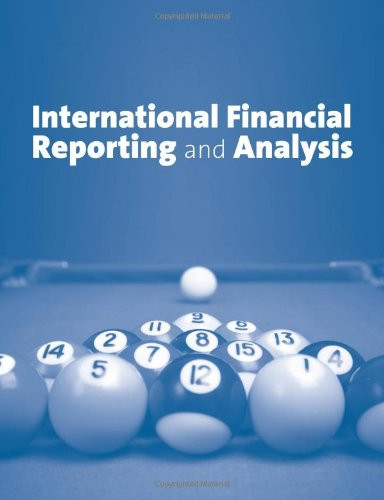 International Financial Reporting And Analysis