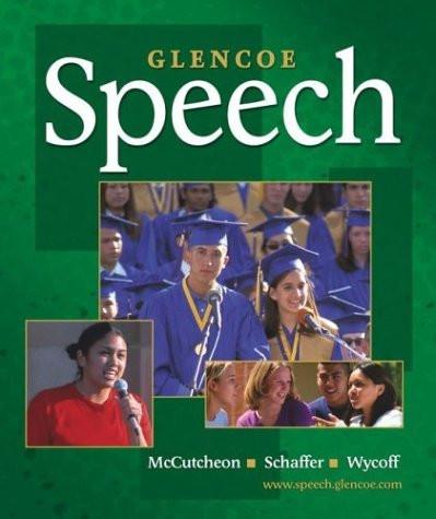 Glencoe Speech