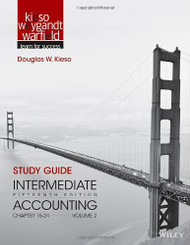 Study Guide To Accompany Intermediate Accounting Volume 2