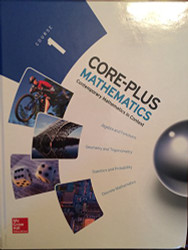 Core-Plus Mathematics Course 1