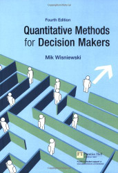 Quantitative Methods for Decision Makers with MathXL
