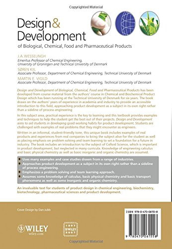 Design And Development Of Biological Chemical Food And Pharmaceutical Products