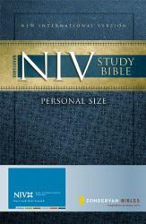 Zondervan Niv Study Bible Personal Size