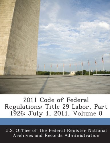 2011 Code Of Federal Regulations