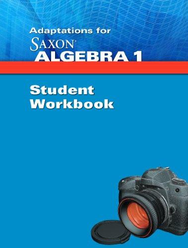 Adaptations For Saxon Saxon Algebra 1