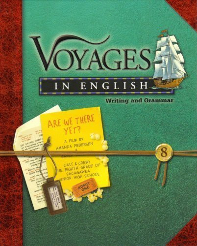 Voyages In English Writing And Grammar 8
