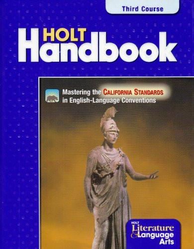Holt Handbook California Edition