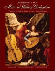 Anthology For Music In Western Civilization Volume 2