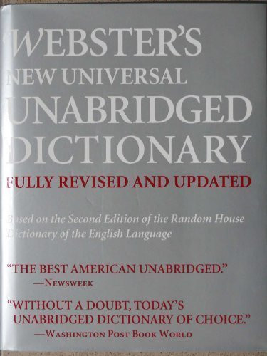 Webster's New Universal Unabridged Dictionary