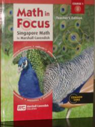 Math in Focus Singapore Math Course 1B Teacher's Edition
