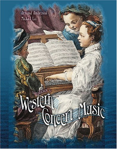 Introduction To Western Concert Music Text