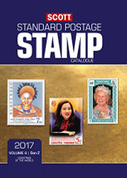 Scott 2017 Standard Postage Stamp Catalogue Volume 6: San-Z
