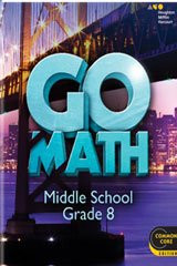 Go Math!: Teacher Edition Grade 8 2014