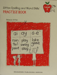 Rebecca Sitton's Practice Book for Learning Spelling and Word Skills Level 2