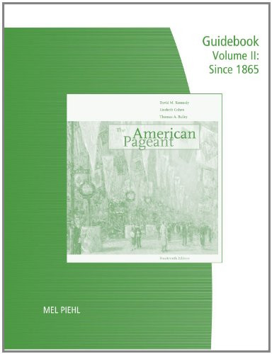 American Pageant Guidebook With Answers Volume 2
