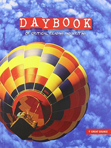 Great Source Daybooks: Student Edition Grade 5